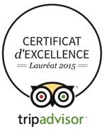 Certificat d'excellence 2015