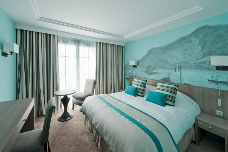 Chambre Standard Sud - vert celadon - Hotel St-Malo