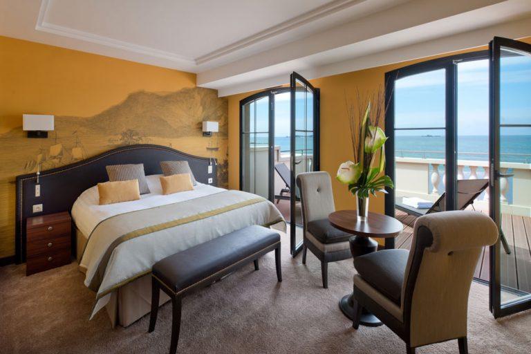 Chambre Premium Mer Privilège - Hotel St-Malo