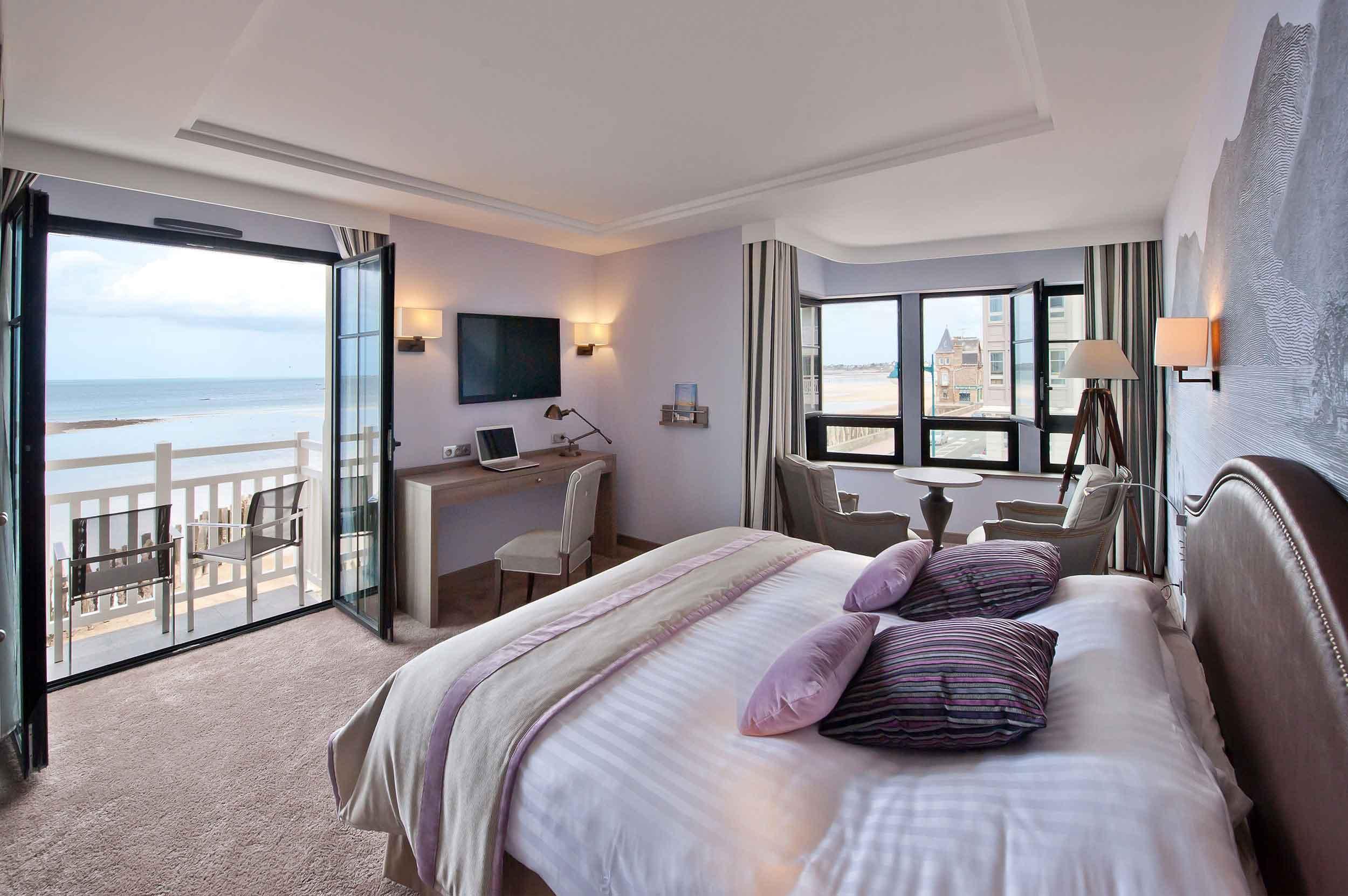 H tel 4 toiles en bretagne vue mer saint malo for Chambre de hotel france