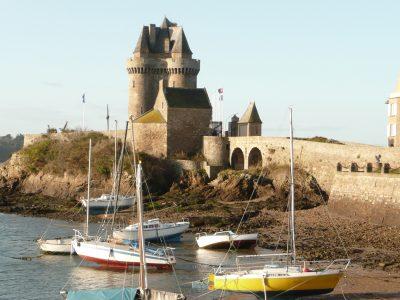 La tour Solidor à St-Malo