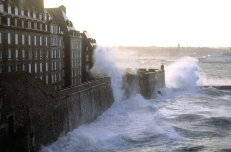 St-Malo : grande marée