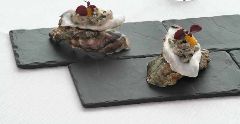 Recette : tartare d'huîtres au Yuzu