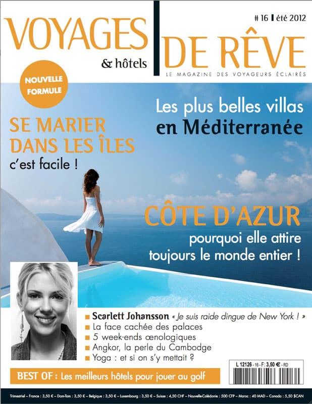Voyages et Hôtels de rêve - Automne 2012 1