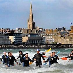 Longe cote à St-Malo