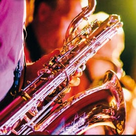 concert sax orchestra
