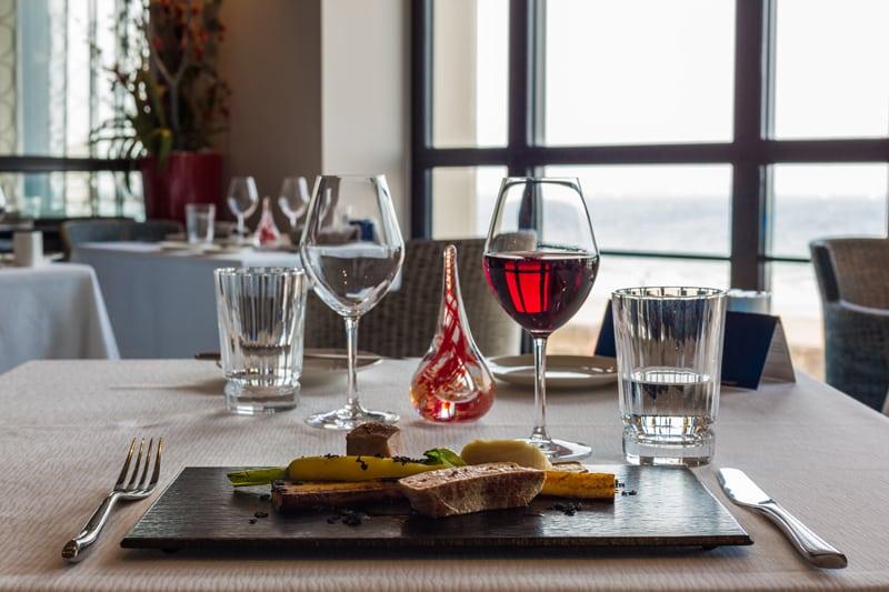 Menu St-Valentin au Restaurant Les 7 Mers à St-Malo