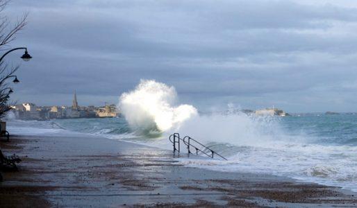 grandes marées à Saint-Malo