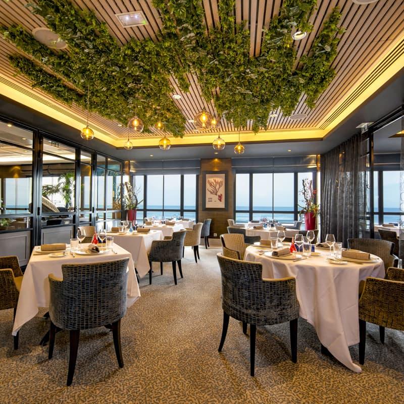 Nouvelle décoration au restaurant Les 7 Mers 2